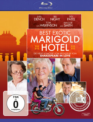 Best Exotic Marigold Hotel (2011) (Blu-ray + DVD)