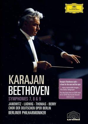 Berliner Philharmoniker, Herbert von Karajan, … - Beethoven - Symphonies Nos. 7-9 (Deutsche Grammophon, Unitel Classica)