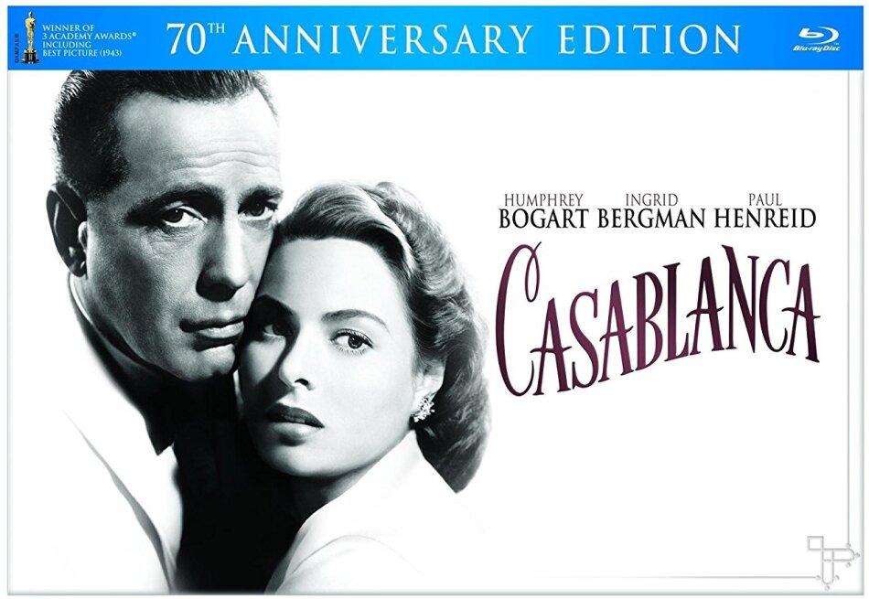 Casablanca (1942) (70th Anniversary Edition, s/w, 2 Blu-rays + DVD)