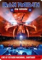 Iron Maiden - En Vivo! Live in Santiago (Limited Edition, Steelbook, 2 DVDs)