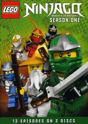 LEGO Ninjago: Masters of Spinjitzu - Season 1 (2 DVDs)