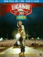 Ligabue - Campovolo 2.0 - Il film (Blu-ray 3D (+2D) + Buch)