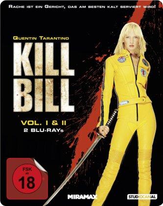Kill Bill - Vol. 1 & 2 (Limited Edition, Steelbook, 2 Blu-rays)