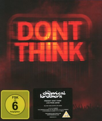 Chemical Brothers - Don't think (Limited Edition, Blu-ray + CD)