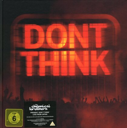 Chemical Brothers - Don't think (DVD + CD + Buch)