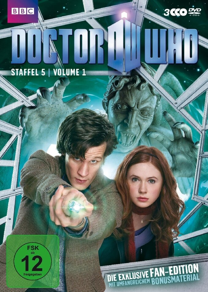 Doctor Who - Staffel 5.1 (3 DVDs)