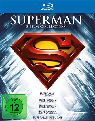 Superman - Die Spielfilm Collection (5 Blu-rays)
