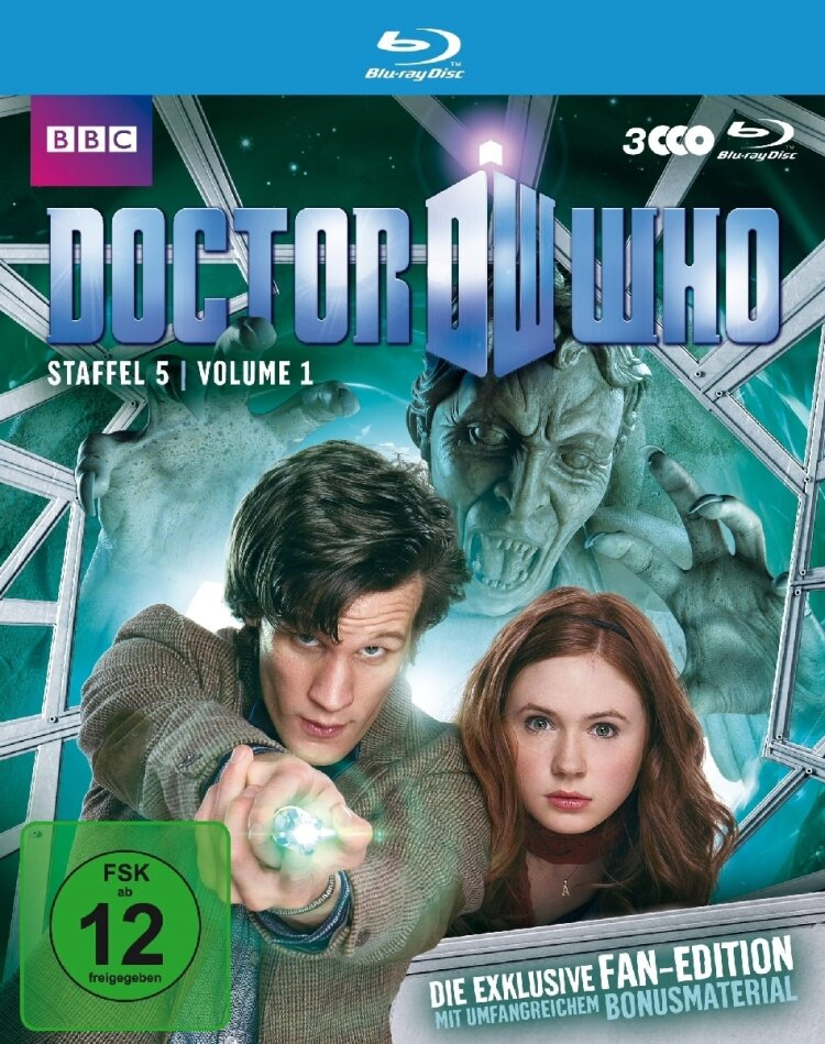 Doctor Who - Staffel 5.1 (3 Blu-rays)