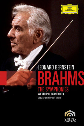 Wiener Philharmoniker & Leonard Bernstein (1918-1990) - Brahms Cycle Part 1-4 (2 DVDs)