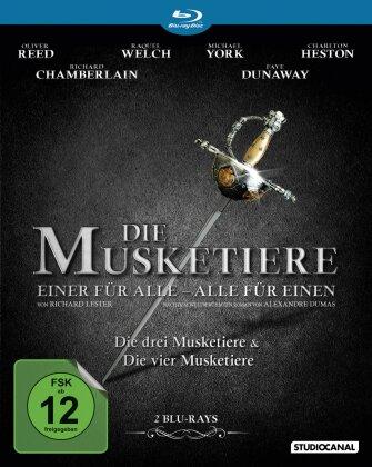 Die Musketiere - Einer für Alle - Alle für Einen! (2 Blu-rays)
