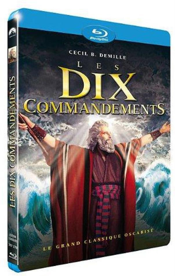 Les dix commandements (1956) (2 Blu-rays)