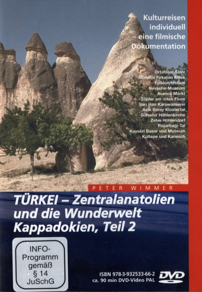 Türkei - Zentralanatolien und die Wunderwelt Kappadokien - Teil 2