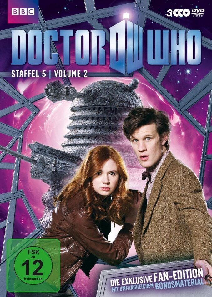 Doctor Who - Staffel 5.2 (3 DVDs)