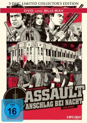 Assault - Anschlag bei Nacht - Das Ende (1976) (Limited Edition, Mediabook, Blu-ray + DVD)