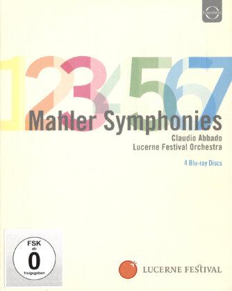 Lucerne Festival Orchestra, Claudio Abbado, … - Mahler - Symphonies Nos. 1-7 (Euro Arts, 4 Blu-rays)