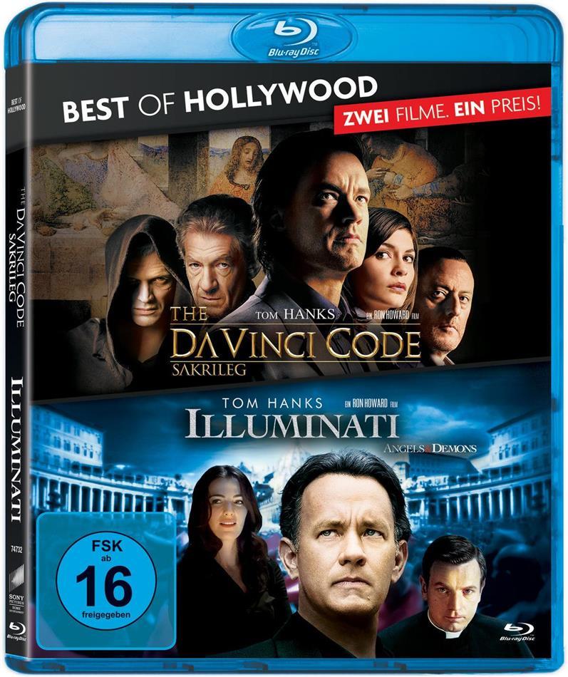 The Da Vinci Code - Sakrileg / Illuminati - Angels & Demons (Best of Hollywood, 2 Blu-rays)
