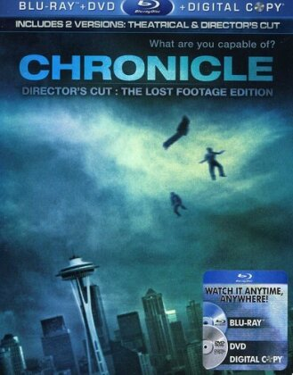 Chronicle - The Lost Footage Edition (2012) (Blu-ray + DVD)