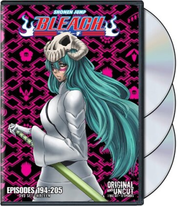 Bleach Uncut Box Set - Vol. 13 (Uncut, 3 DVDs)