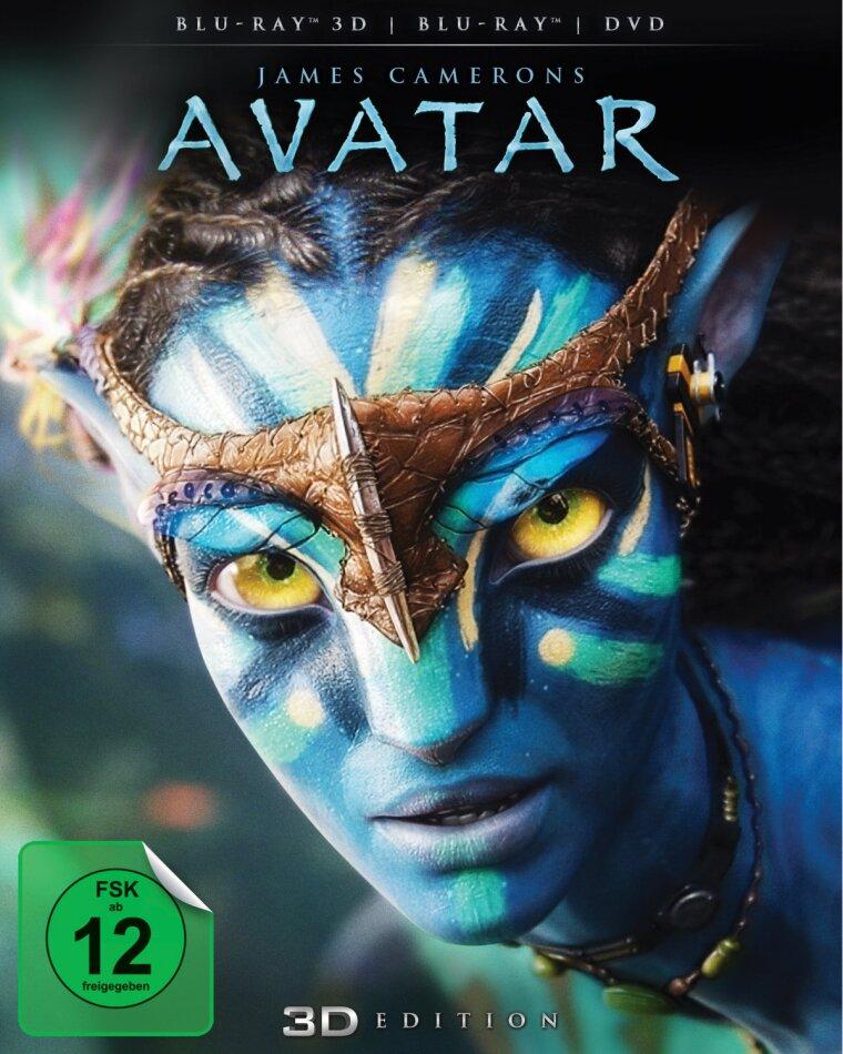 Avatar (2009) (Blu-ray 3D (+2D) + DVD)