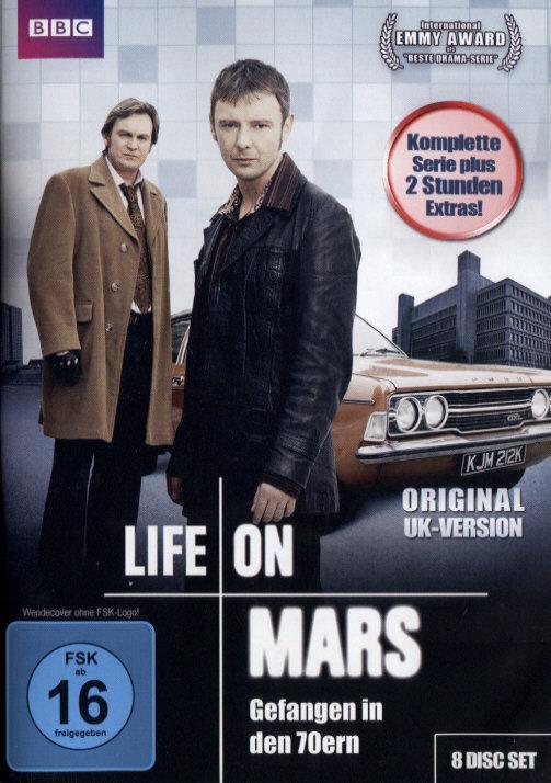 Life on Mars - Gefangen in den 70ern - Die komplette Serie (Uncut, 8 DVDs)
