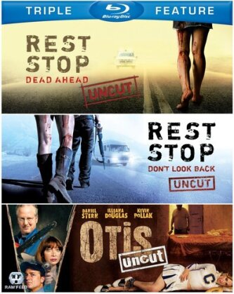Rest Stop: Dead Ahead / Rest Stop: Don't Look Back / Otis: Uncut (Uncut, 3 Blu-rays)