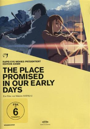 The place promised in our early days (2004) (Edition Anime)
