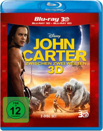 John Carter - Zwischen zwei Welten (2012) (Blu-ray 3D + Blu-ray)