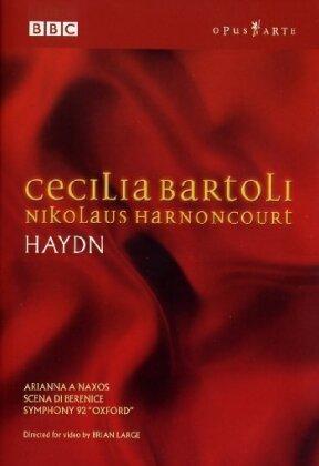 Concentus Musicus Wien, Nikolaus Harnoncourt & Cecilia Bartoli - Cecilia Bartoli sings Haydn (Opus Arte, BBC)