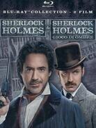 Sherlock Holmes (2010) / Sherlock Holmes 2 (2011) (Steelbook, 2 Blu-rays)