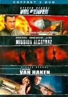 Coffret Steven Seagal 2 - Vol d'enfer / Mission Alcatraz / L'affaire Van Haken (3 DVDs)