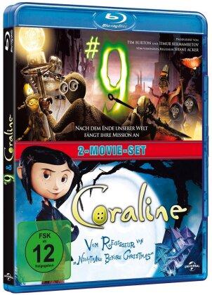 9 / Coraline (2 Blu-rays)