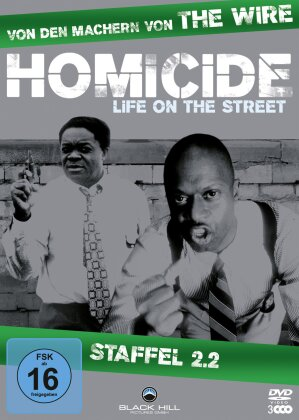Homicide - Life on the Street - Staffel 2.2 (3 DVDs)