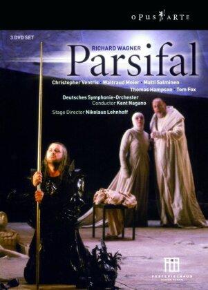 Deutsches Symphonie-Orchester Berlin, Kent Nagano, … - Wagner - Parsifal (3 DVDs)