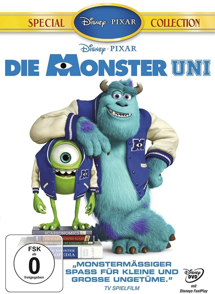 Die Monster Uni (2013) (Special Collection)