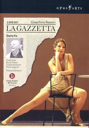Orchestra of the Gran Teatre del Liceu, Maurizio Barbacini, … - Rossini - La Gazzetta (Opus Arte, 2 DVDs)