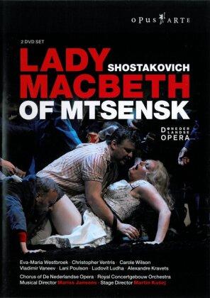 Royal Concertgebouw Orchestra, Mariss Jansons, … - Shostakovich - Lady Macbeth of Mtsensk (Opus Arte, 2 DVDs)