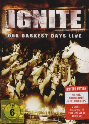 Ignite - Our darkest day - Live (Limited Edition, DVD + CD)