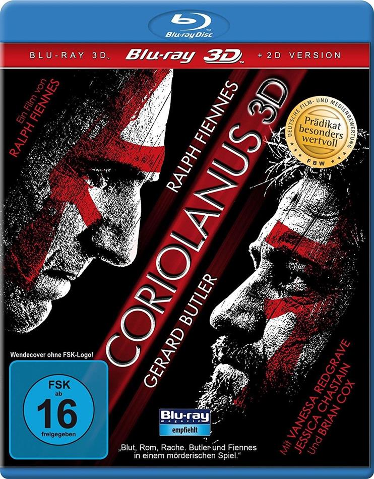 Coriolanus (2011) (Blu-ray 3D + Blu-ray)