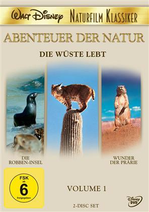 Abenteuer der Natur - Vol. 1 - Die Wüste lebt (2012) (Disney Naturfilm Klassiker, 2 DVDs)