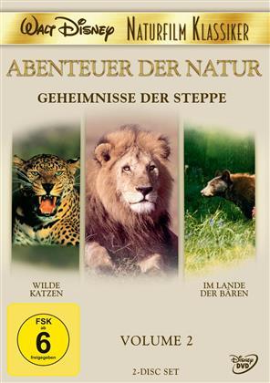 Geheimnisse der Steppe - Walt Disney Naturfilm Klassiker - Vol. 2 (2 DVDs)