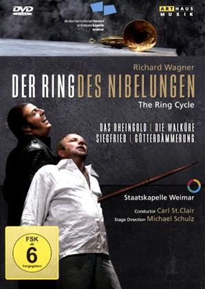 Staatskapelle Weimar, Nationaltheater Weimar, … - Wagner: Der Ring des Nibelungen - The Ring Cycle (Arthaus Musik, 7 DVDs)
