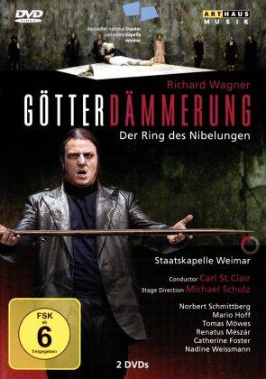Nationaltheater Weimar, Carl St. Clair, … - Wagner - Götterdämmerung (Arthaus Musik, 2 DVDs)