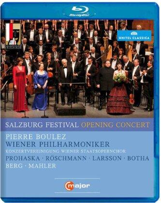 Wiener Philharmoniker, Pierre Boulez (*1925), … - Salzburg Festival Opening Concert 2011 (Salzburger Festspiele, C Major, Unitel Classica)