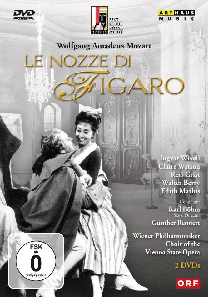 Mozart - Le nozze di Figaro (Salzburger Festspiele, Arthaus Musik ...