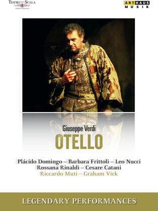 Orchestra of the Teatro alla Scala, Riccardo Muti, … - Verdi - Otello (Arthaus Musik, Legendary Performances)