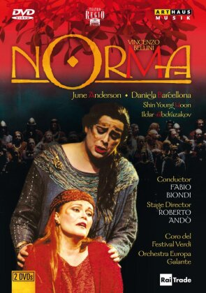 Orchestra Europa Galante, Fabio Biondi, … - Bellini - Norma (Arthaus Musik, 2 DVDs)