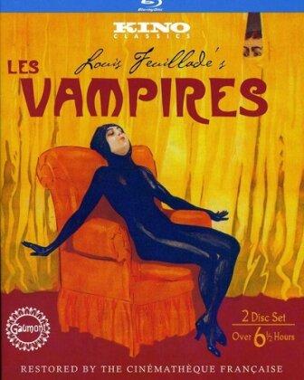 Les Vampires (1915) (2 Blu-rays)