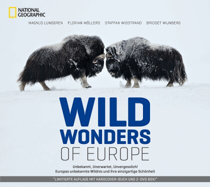 Wild Wonders of Europe (Limited Edition, 2 DVDs + Buch)