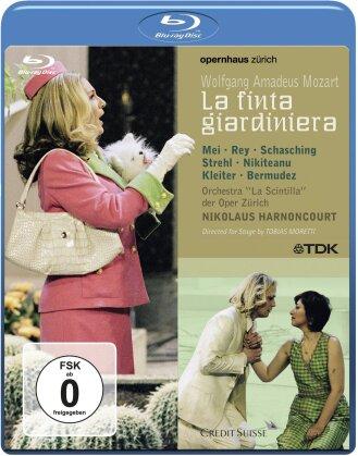 Opernhaus Zürich, Nikolaus Harnoncourt, … - Mozart - La finta gardiniera