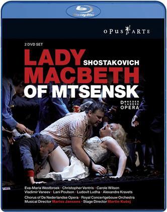 Royal Concertgebouw Orchestra, Mariss Jansons, … - Shostakovich - Lady Macbeth of Mtsensk (Opus Arte, 2 Blu-rays)